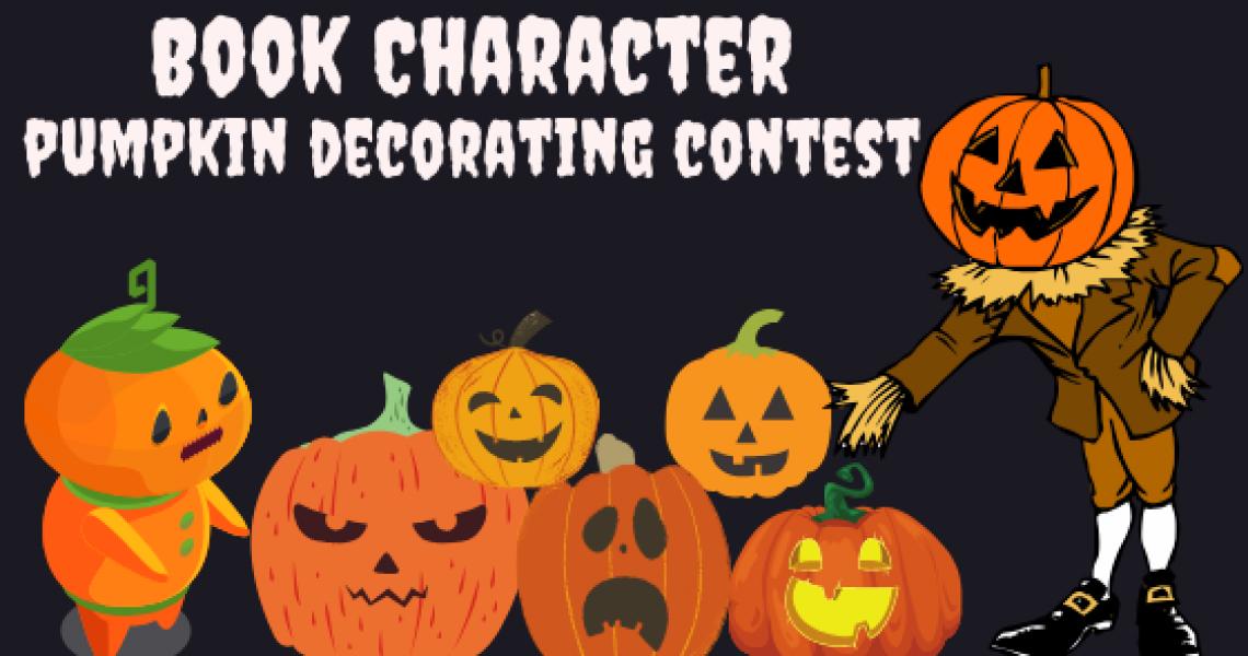 Book Character Pumpkin Contest