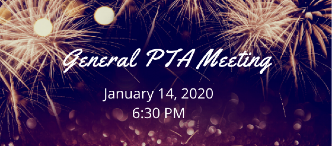 January PTA Meeting