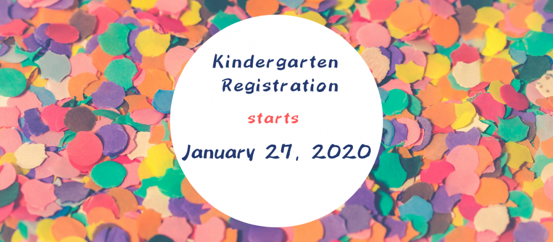 Kindergarten Registration - 2020