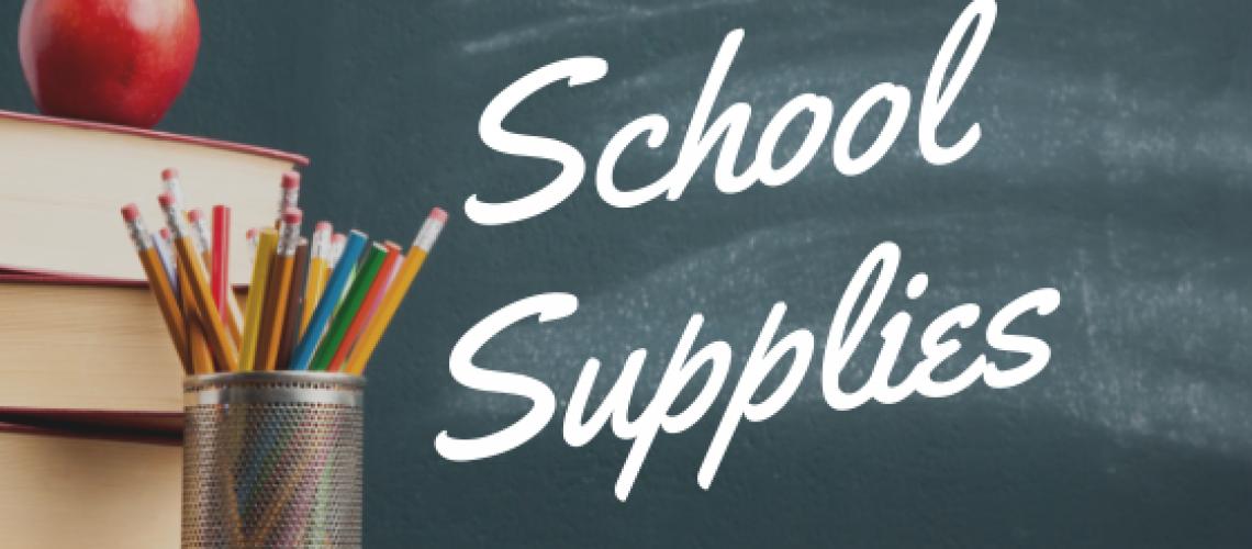 School Supplies Image