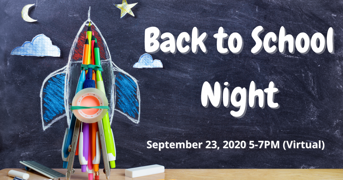 Back to School Night - 2020
