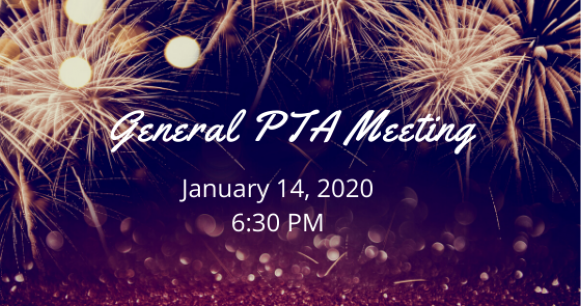 January PTA Meeting